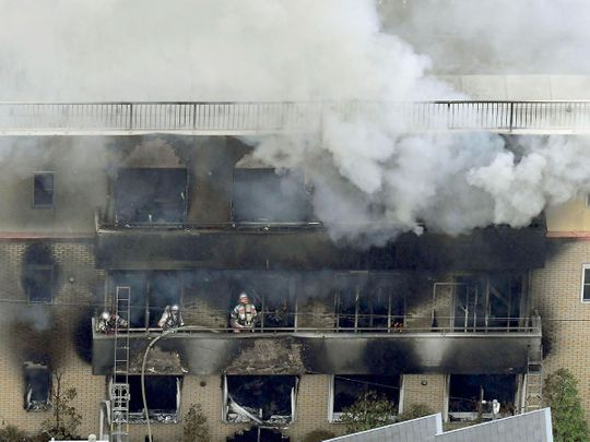At Least 10 Killed in Suspected Arson at Japanese Anime Studio