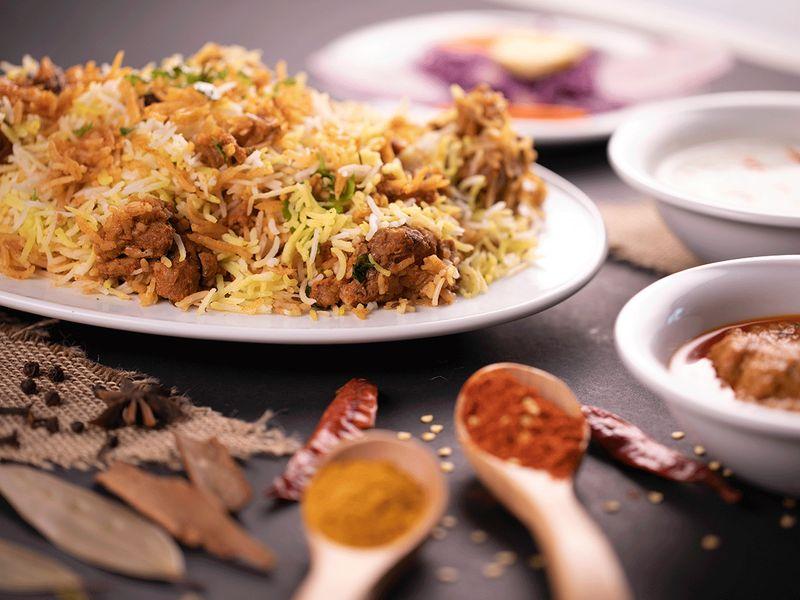 Deccan Delight biryani