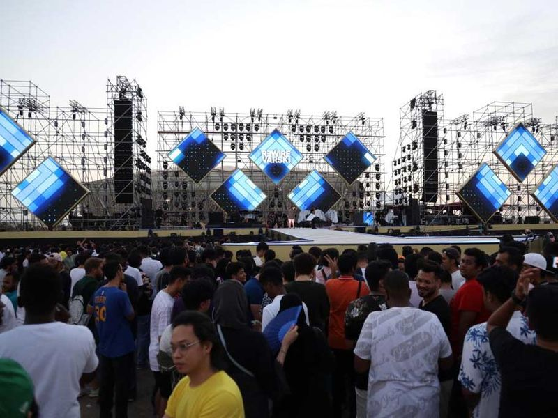 Jeddah fest stage
