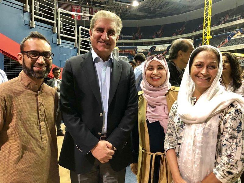 Pakistan FM in America