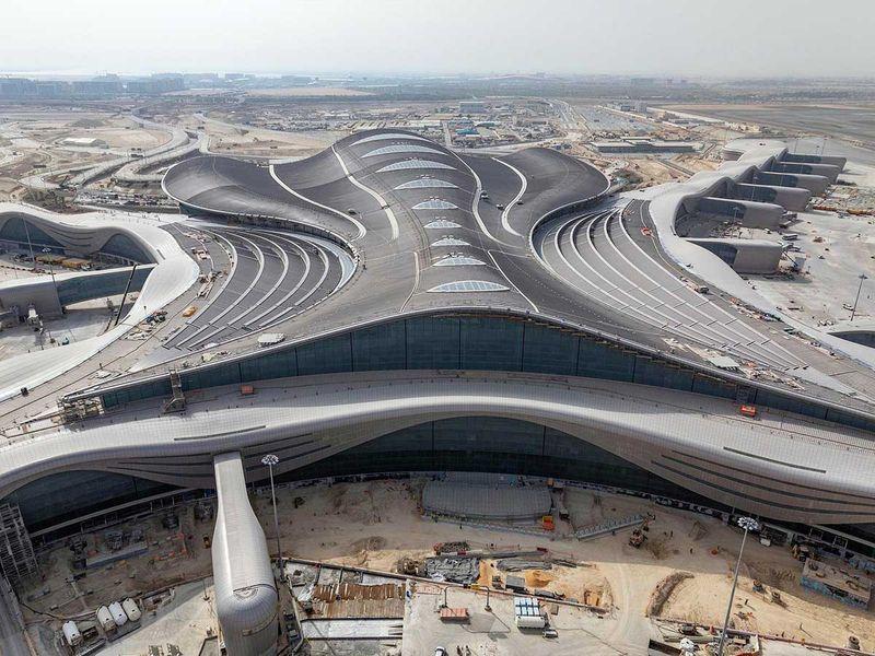 Abu Dhabi Airports terminal