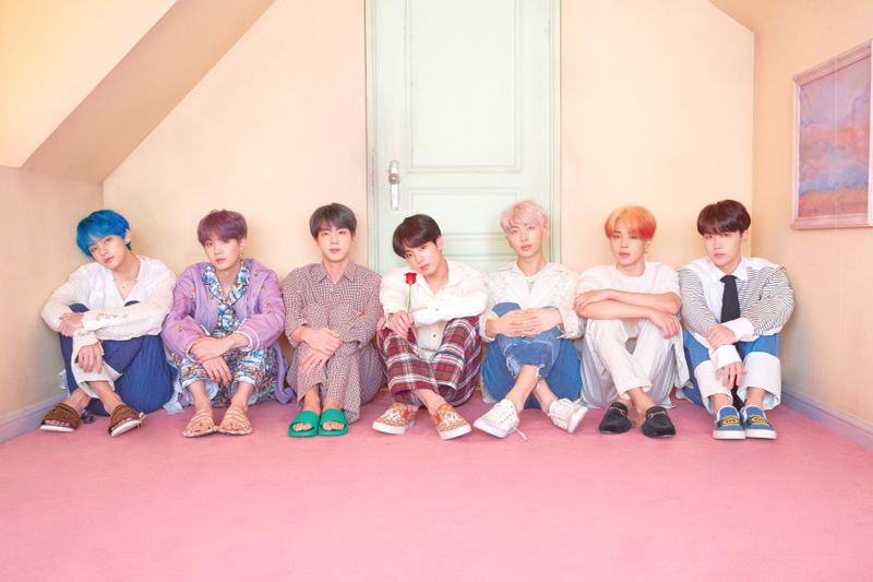 BTS - L to R - V, Suga, Jin, Jungkook, RM, Jimin, and J-Hope, provided by DawBell-1563717822770