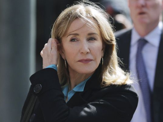 Felicity Huffman 'remorseful' after college scandal