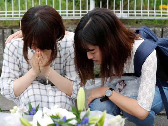 Kyoto arson attack, tributes pour in
