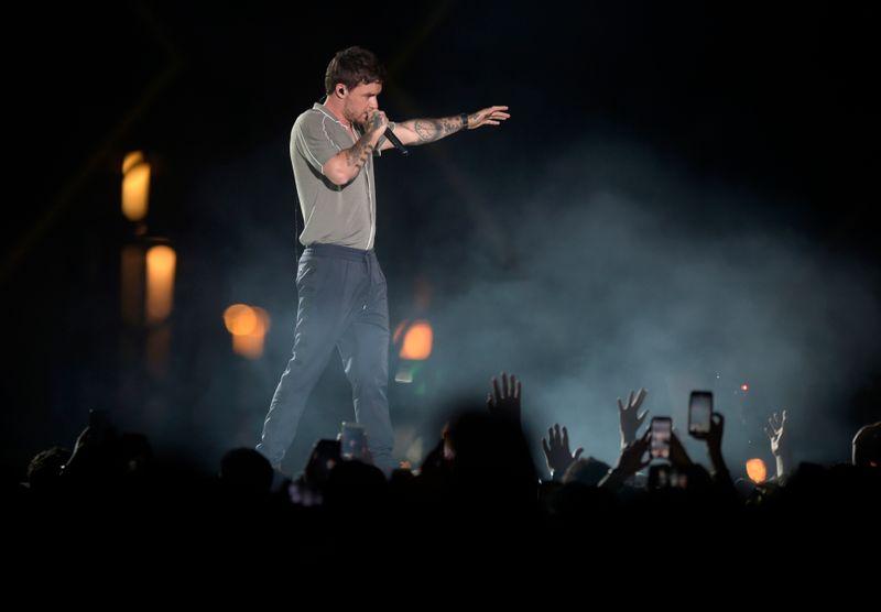 Liam Payne at Jeddah World Fest.