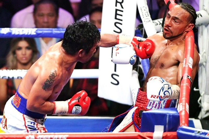 Manny Pacquiao Keith Thurman 05