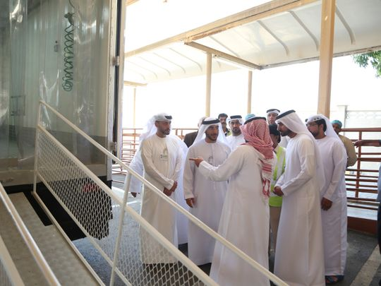 NAT 190721 Sharjah Municipality launches a mobile slaughterhouse-1563720954647