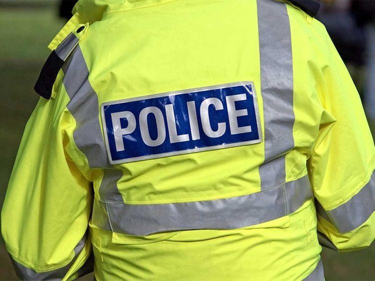 Police, cop, crime scene