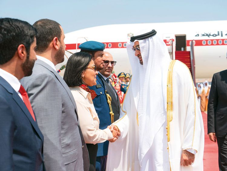 UAE to become a shining pearl along Belt and Road,' says
