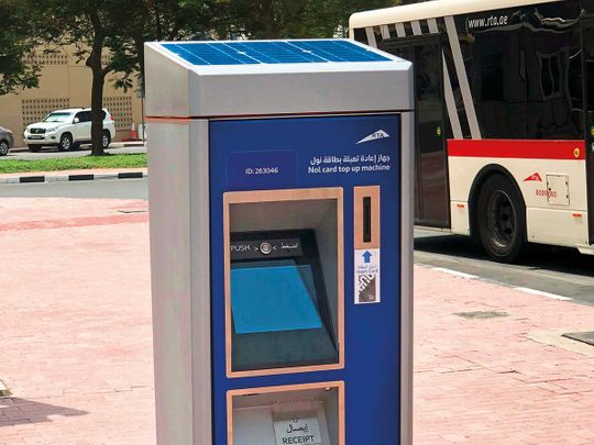 solar-powered nol recharge machines