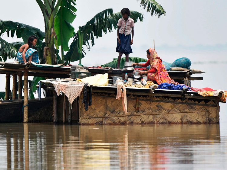 Assam-India-rain