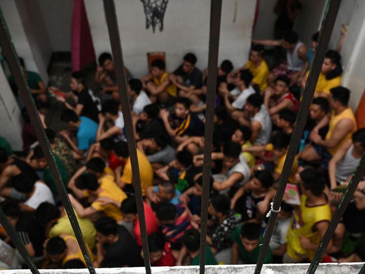 Philippines juvenile detention centre