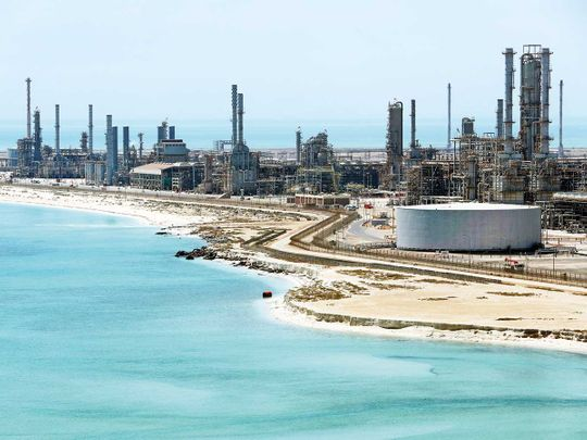 Saudi Aramco's Ras Tanura oil refinery