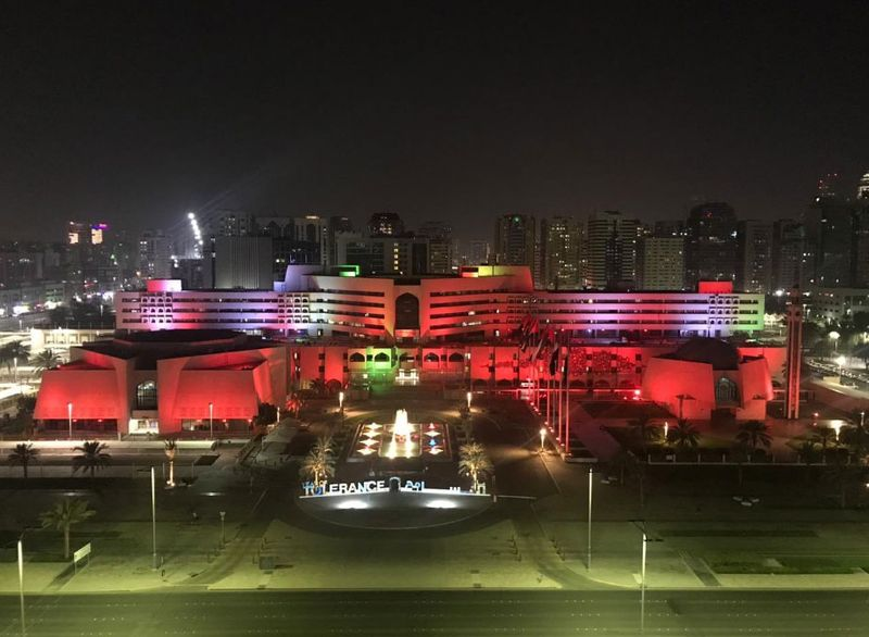 Abu Dhabi in colours for China
