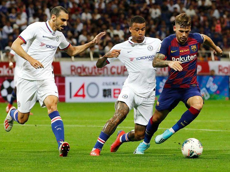 Barcelona's Philippe Coutinho