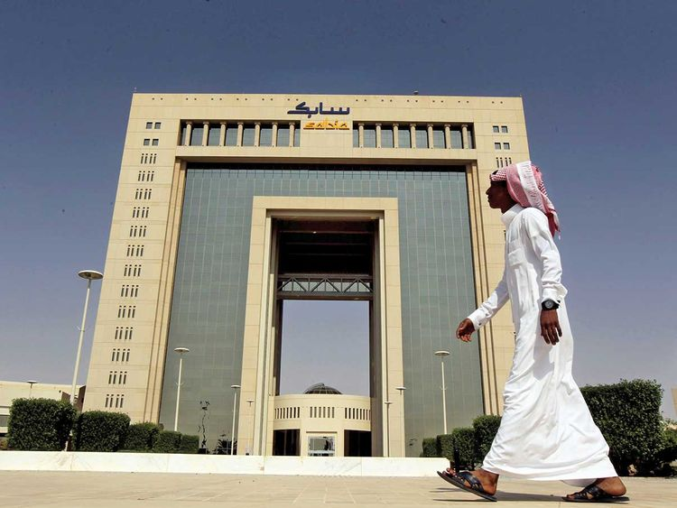 The headquarters of Saudi Basic Industries Corp (SABIC) in Riyadh
