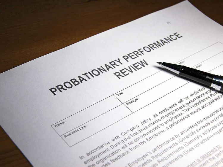 190725 probationary performance review