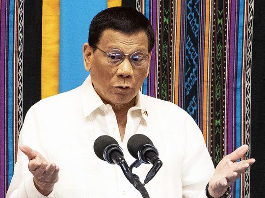 190726 Philippine President Rodrigo Duterte