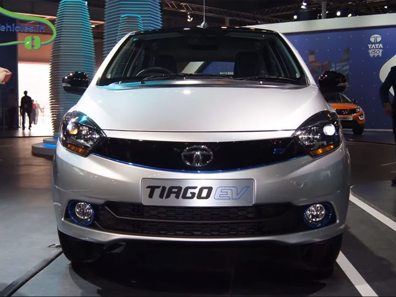 A Tata Tiago EV