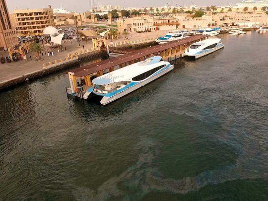 Dubai-Sharjah ferry