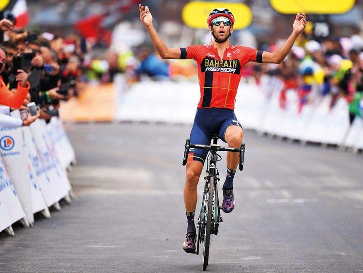 Italy's Vincenzo Nibali