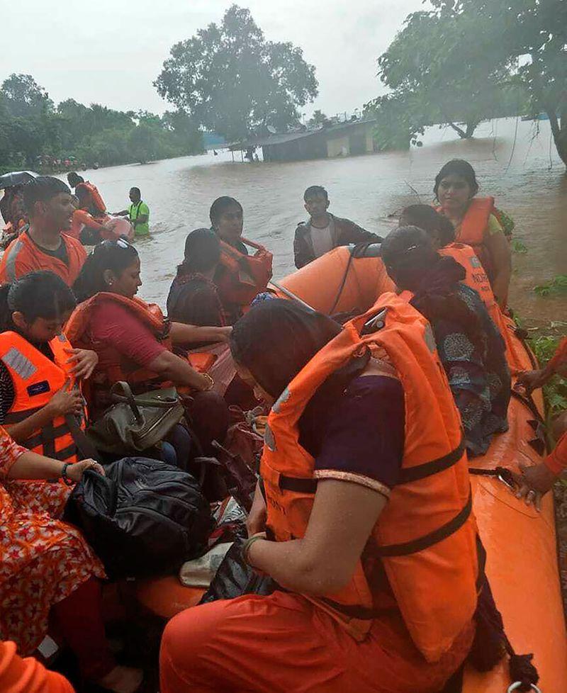 National Disaster Response Force Mumbai rain 0121