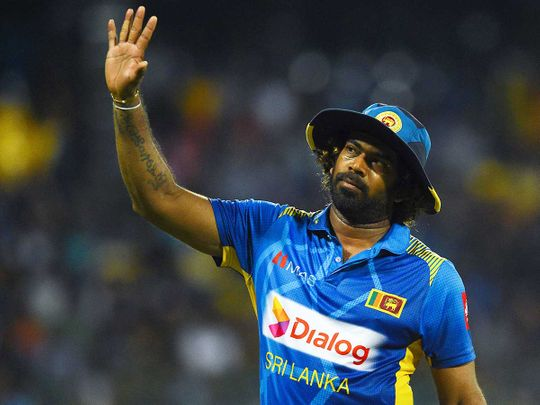 Sri Lankan pacer Lasith Malinga