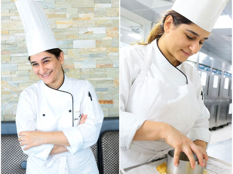 Chef Sahar in Burj Al Arab
