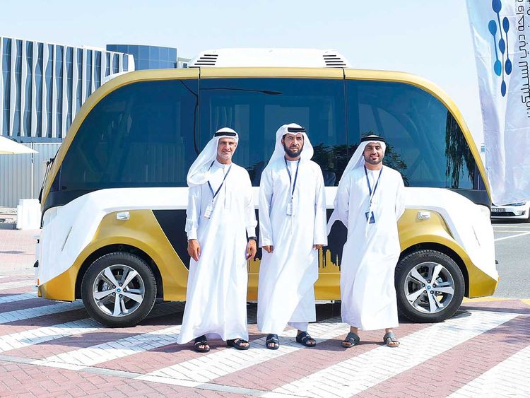 RTA's self-driving transport tests begin