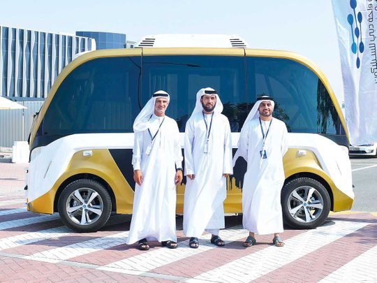 RTA's self-driving transport tests begin