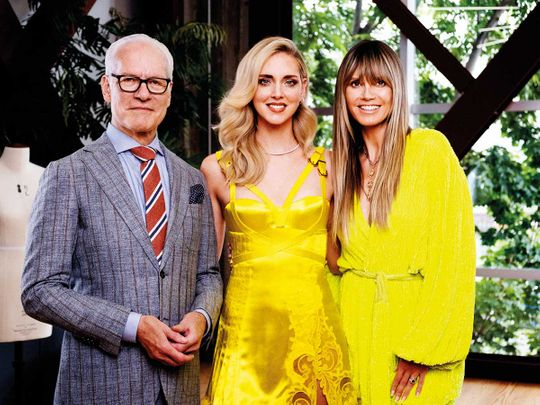 What To Expect From Amazon S New Fashion Show With Heidi Klum And Tim Gunn Tv Gulf News
