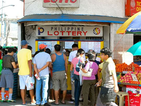 A lottery outlet in the Philippines STL -91212