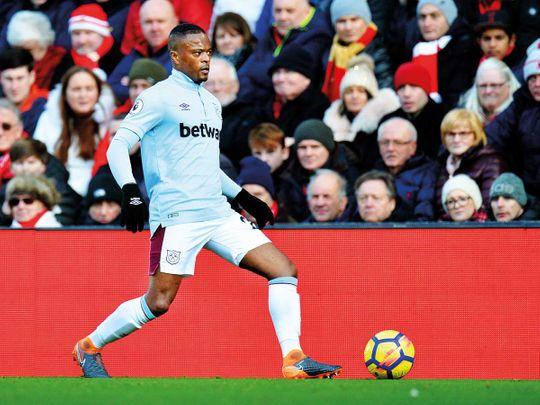 Manchester United defender Patrice Evra