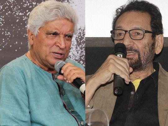Veteran lyricist Javed Akhtar Shekhar Kapur -2412
