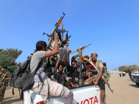 190730 houthi militants