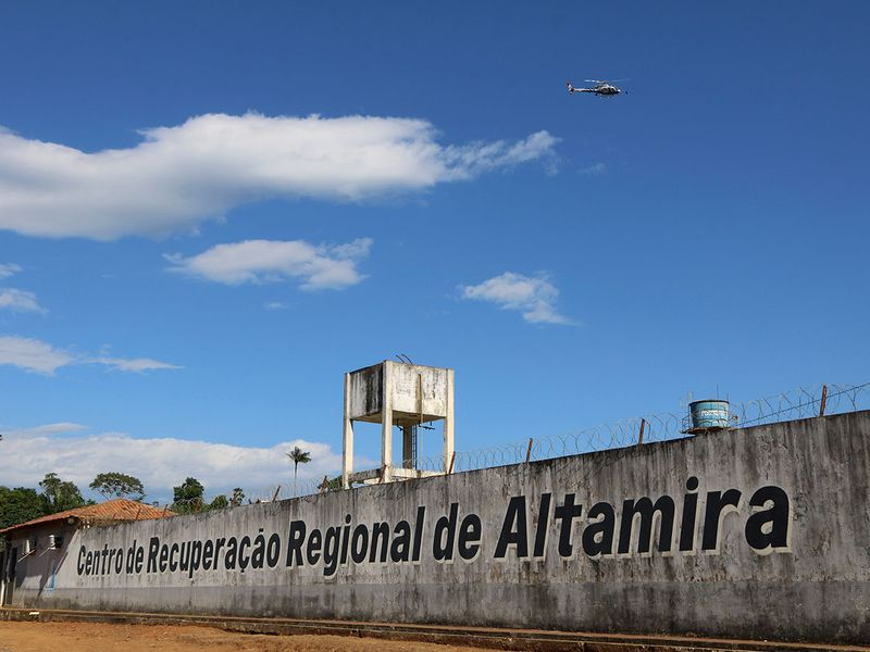 BRAZIL regional Recovery Center, a prison, in Altamira0212