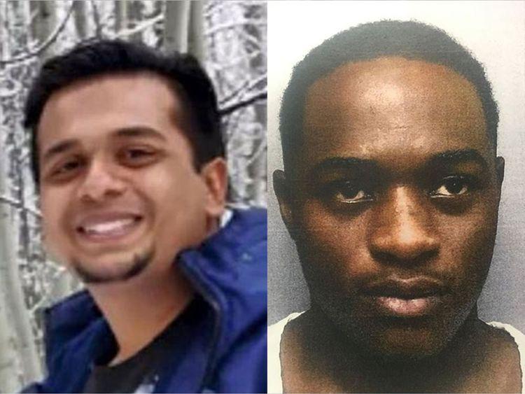 Leon Flowers (right), 23, Neil Kumar, 30