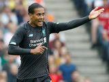 Liverpool's Virgil van Dijk