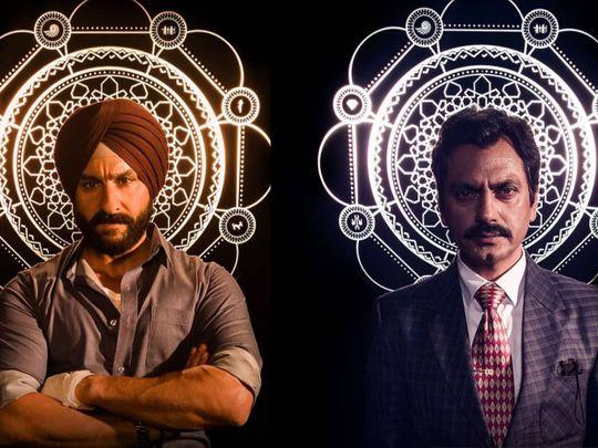 Saif Ali Khan and Nawazuddin Siddique in 'Sacred Games' Season 2