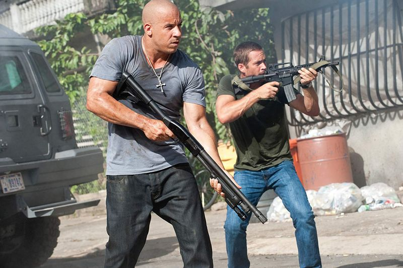 Vin Diesel and Paul Walker in Fast Five (2011)-1564466846587