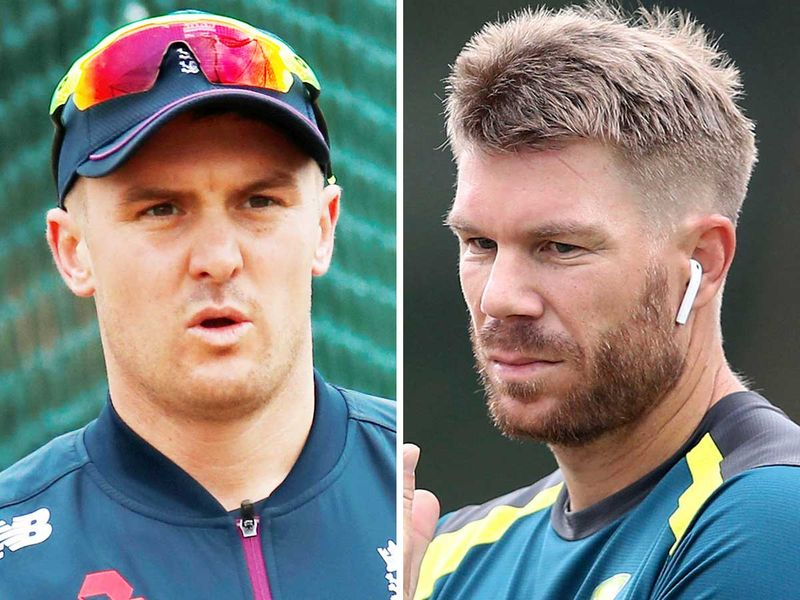Jason Roy and David Warner