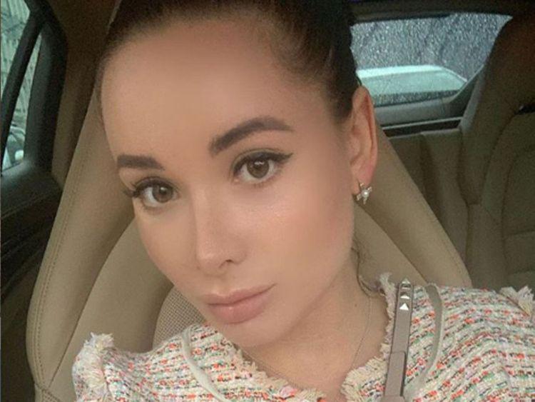 Russian blogger Ekaterina Karaglanova