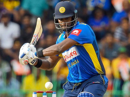 Sri Lanka's Angelo Mathews