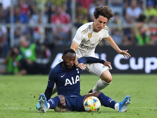Tottenham's French midfielder Georges-Kevin N'Koudou