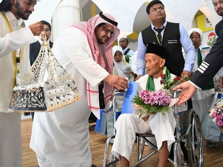 oldest haj pilgrim