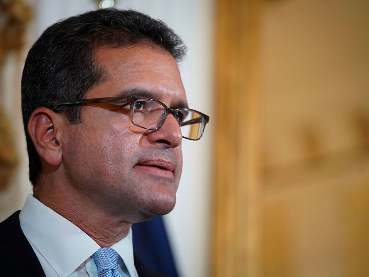 Puerto Rico Governor Steps Down But Successor S Status Unclear