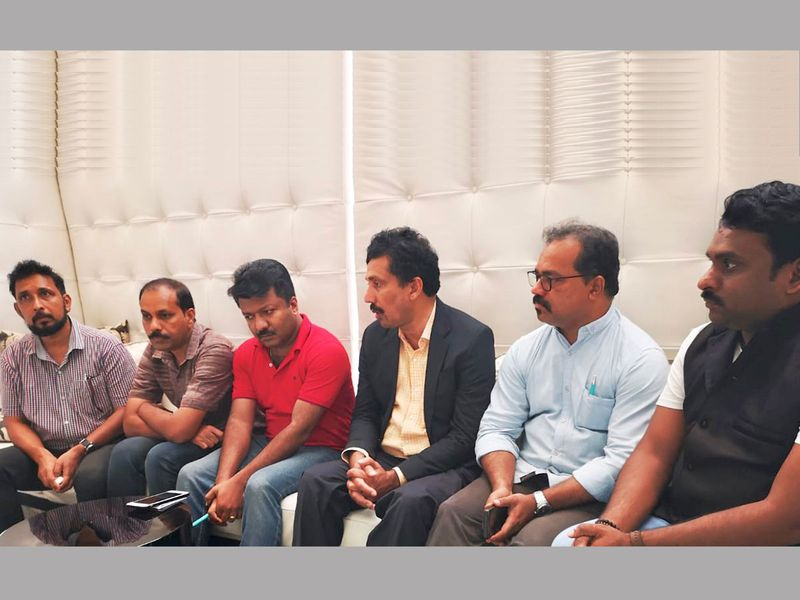 Malayalam media journalists in Dubai
