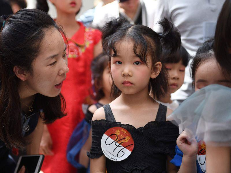 Child models china