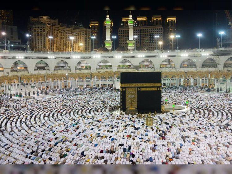 Hajj Pilgrims Makkah