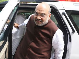 Indian Home Minister Amit Shah